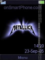 Metallica 20 es el tema de pantalla