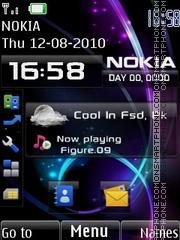 2020 Nokia es el tema de pantalla