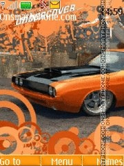 Dodge Charger RT NFS UC theme screenshot