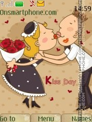 Kiss Day theme screenshot