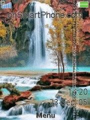 Waterfall 04 es el tema de pantalla