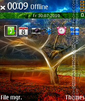Abs nature 01 theme screenshot