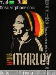 Bob Marley 08 theme screenshot
