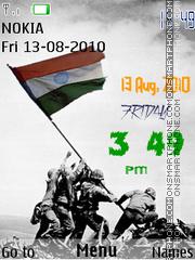 Indian Independence theme screenshot