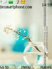 Crystal Flower 01 theme screenshot