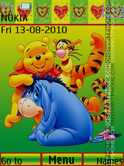 Winnie The Pooh 11 es el tema de pantalla