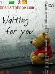 Waiting For You 02 tema screenshot