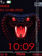 Red cobra theme screenshot
