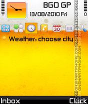 Beer time theme screenshot