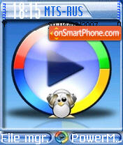 Dj Tux theme screenshot