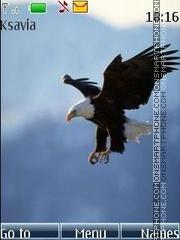 White-headed eagle theme screenshot