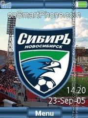 FC Sibir Yari theme screenshot