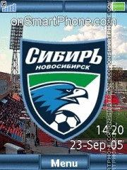 FC Sibir C902 theme screenshot
