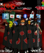 Akatsuki Team theme screenshot
