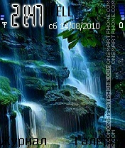 Waterfall theme screenshot