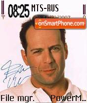 Bruce Willis es el tema de pantalla