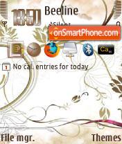 GlamurV2 QVGA es el tema de pantalla