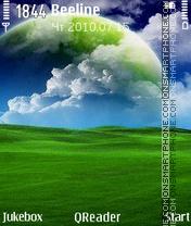 Green World theme screenshot