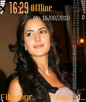 Katrina kaif theme screenshot