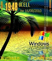 Windows XP001 theme screenshot