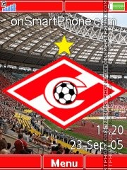 FC Spartak Moscow C902 theme screenshot