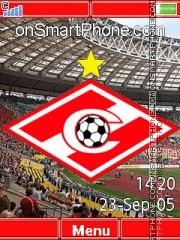 FC Spartak Moscow Yari theme screenshot