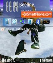 Sk8er es el tema de pantalla