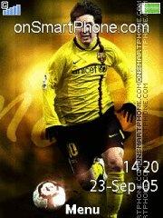 Lionel Messi 01 theme screenshot