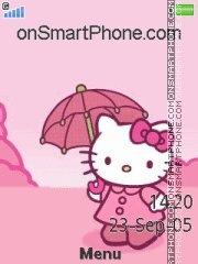 Hello Kitty Cute es el tema de pantalla