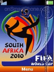 South Africa 2010 06 theme screenshot
