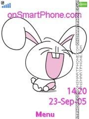 Laugh Bunny es el tema de pantalla