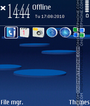3d Nokia 01 Theme-Screenshot