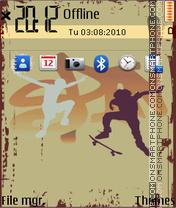 Street fever 02 theme screenshot