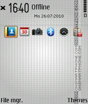 Tint theme screenshot