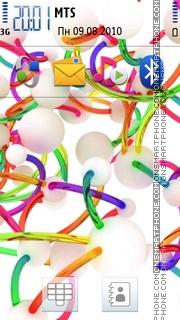 3d Colors tema screenshot