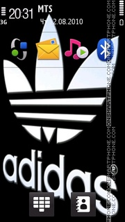 Adidas 46 theme screenshot