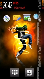 Dance Cool V tema screenshot