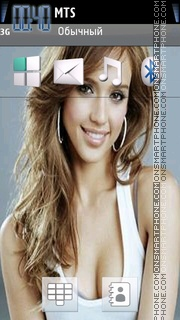 Jessica Alba 22 Theme-Screenshot