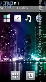 Lights Of City Theme-Screenshot
