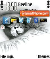 Eye 2 theme screenshot