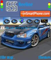 Subaru 02 theme screenshot