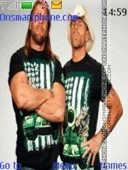 DX (Triple H X S hawn Miclaels) theme screenshot