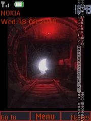 Скриншот темы Metro-2033