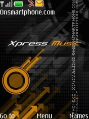Xpress Orange theme screenshot