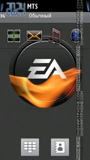 Скриншот темы Ea Logo Cool