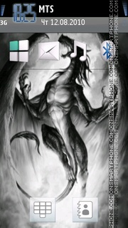 Dragon 18 theme screenshot