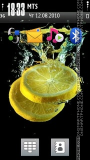 Lemon 05 theme screenshot