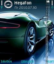 Aston Martin DBS theme screenshot