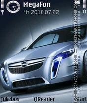 Скриншот темы Opel-Gran