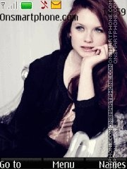 Bonnie Wright theme screenshot